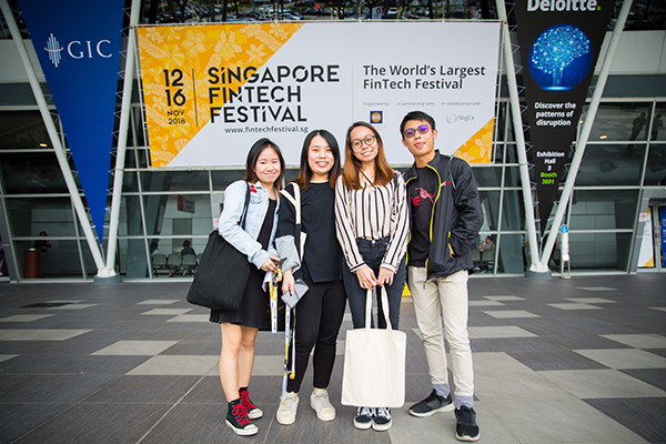 Learning Journey to Singapore Fintech Festival (SFF)