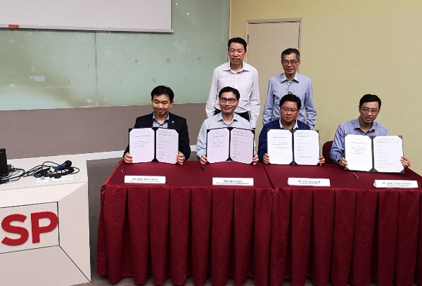 Singapore Polytechnic (SP) signs MOU to promote awareness and use of 5G in Advanced Manufacturing _1