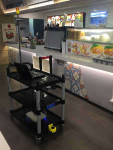 Automated Utensil Trolley (IMDA)
