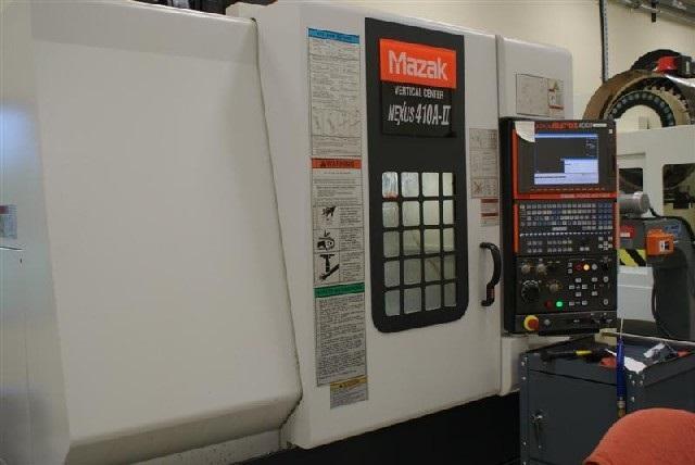 Mazak Vertical Center NEXUS 410A-II-H640