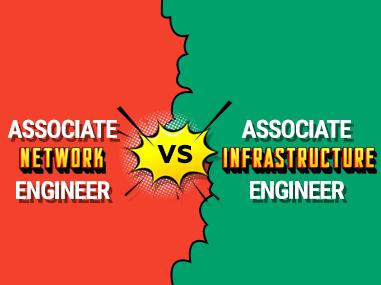 Associate Network EngineervsAssociate Infrastructure Engineer - Feature