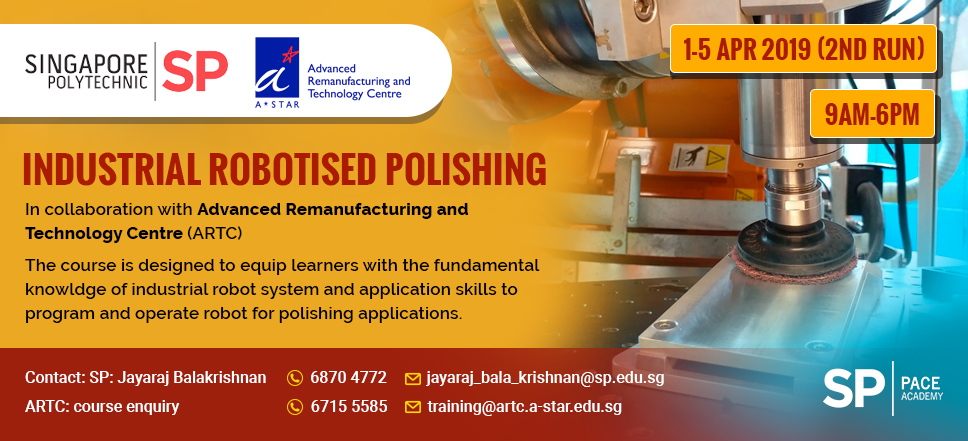Industria Robotised Polishing Web Banner