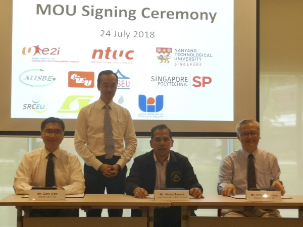 SP MOU Signing Ceremony with NTUC OPEC