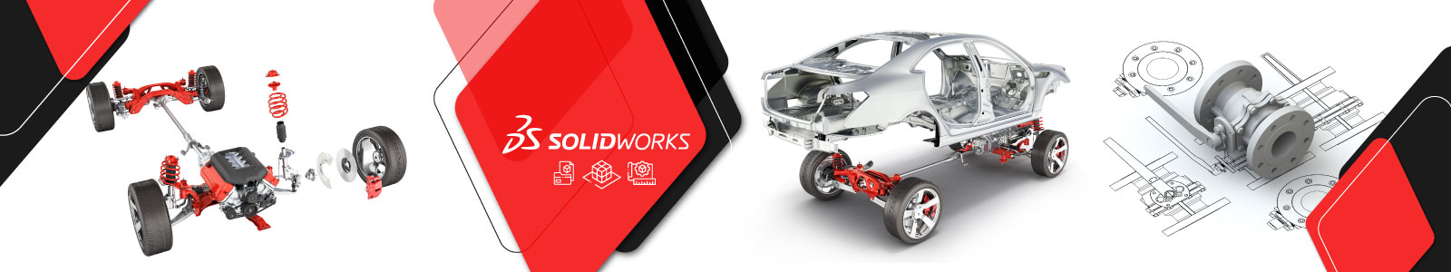 SolidWorks – 3D Modelling and Drawing-banner