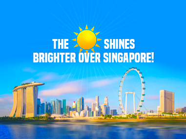 The Sun Shines Brighter Over Singapore Feature