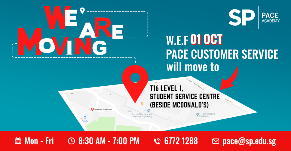 PACE customer service new location